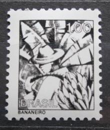 Poštovní známka Brazílie 1979 Sbìr banánù Mi# Mi# 1542