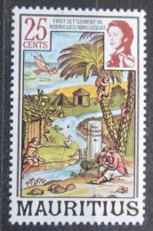 Poštovní známka Mauricius 1978 První osídlení v Rodrigues Mi# Mi# 439 I X A