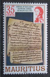 Poštovní známka Mauricius 1983 Zakládací listina Mi# Mi# 440