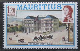 Poštovní známka Mauricius 1978 Vládní budova Mi# Mi# 447 I X A