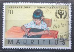 Poštovní známka Mauricius 1990 Mezinárodní rok vzdìlání Mi# Mi# 711