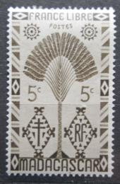 Poštovní známka Madagaskar 1943 Strom cestovatelù Mi# Mi# 350