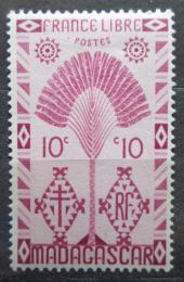Poštovní známka Madagaskar 1943 Strom cestovatelù Mi# Mi# 351