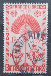 Poštovní známka Madagaskar 1943 Strom cestovatelù Mi# Mi# 357
