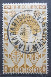 Poštovní známka Madagaskar 1943 Strom cestovatelù Mi# Mi# 358
