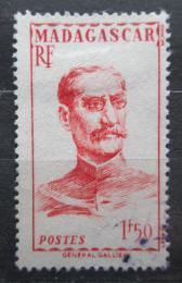 Poštovní známka Madagaskar 1946 Guvernér Gallieni Mi# Mi# 395