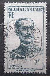 Poštovní známka Madagaskar 1946 Guvernér Gallieni Mi# Mi# 396