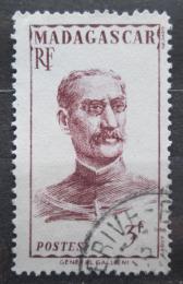 Poštovní známka Madagaskar 1946 Guvernér Gallieni Mi# Mi# 397