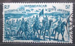 Poštovní známka Madagaskar 1946 Od Èadu k Rýnu Mi# Mi# 411 Kat 5€