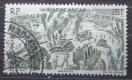 Poštovní známka Madagaskar 1946 Od Èadu k Rýnu Mi# Mi# 413 Kat 5€