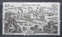 Poštovní známka Madagaskar 1946 Od Èadu k Rýnu Mi# Mi# 414 Kat 5€