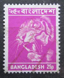Poštovní známka Bangladéš 1976 Tygr Mi# 62