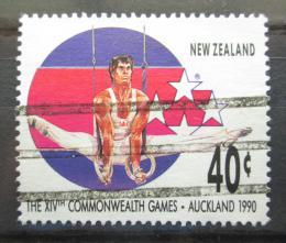 Poštovní známka Nový Zéland 1989 Gymnastika Mi# Mi# 1096
