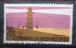 Poštovní známka Nový Zéland 1981 Maják, životní pojištìní Mi# 49