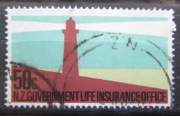 Poštovní známka Nový Zéland 1981 Maják, životní pojištìní Mi# 52