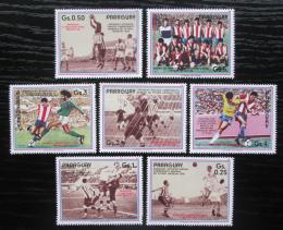 Poštovní známky Paraguay 1986 MS ve fotbale Mi# 3977-83 Kat 7.50€