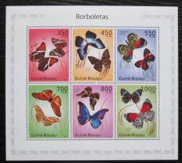 Poštovní známky Guinea-Bissau 2010 Motýli Mi# 5097-5102 Kat 16€