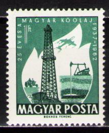 Poštovní známka Maïarsko 1962 Ropný prùmysl Mi# 1872