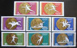 Poštovní známky Maïarsko 1969 LOH Mexiko Mi# 2477-84