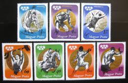 Poštovní známky Maïarsko 1973 LOH Mnichov Mi# 2847-53