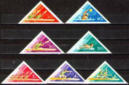 Poštovní známky Maďarsko 1973 Vodní sporty Mi# 2919-25 - zvětšit obrázek