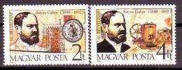 Poštovní známky Maïarsko 1988 Den známek Mi# 3990-91