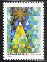 Poštovní známka Maïarsko 1988 Vánoce Mi# 3994