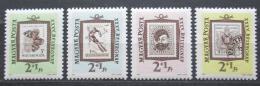 Poštovní známky Maïarsko 1962 Den známek Mi# 1868-71 Kat 6€
