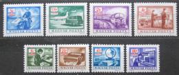 Poštovní známky Maïarsko 1973 Poštovní služby, doplatní Mi# 242-49