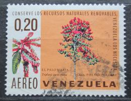 Poštovní známka Venezuela 1969 Triplaris caracasena Mi# 1785