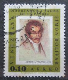 Poštovní známka Venezuela 1966 Umìní, Simón Bolívar Mi# 1684