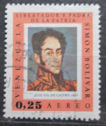Poštovní známka Venezuela 1968 Umìní, Simón Bolívar Mi# 1719