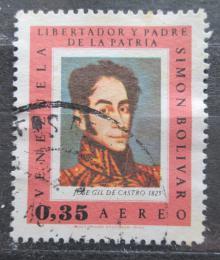 Poštovní známka Venezuela 1967 Umìní, Simón Bolívar Mi# 1721