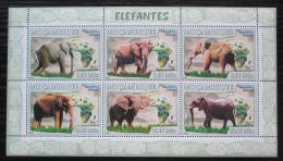 Poštovní známky Mosambik 2007 Sloni Mi# 3038-43 Kat 10€
