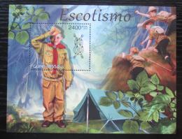Poštovní známka Guinea-Bissau 2012 Skauti Mi# Block 1092 Kat 9.50€