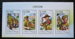 Poštovní známky Svatý Tomáš 2014 Skauti Mi# 5850-53 Kat 10€