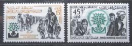 Poštovní známky Maroko 1960 Rok uprchlíkù Mi# 451-52