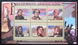 Poštovní známky Guinea 2010 James Buchanan, 15. US prezident Mi# 8000-05 Kat 12€