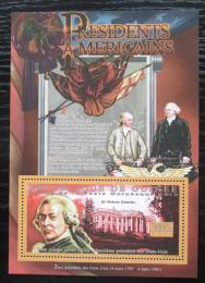 Poštovní známka Guinea 2010 John Adams, 6. US prezident Mi# Block 1876 Kat 10€