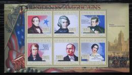 Poštovní známky Guinea 2010 John Tyler, 10. US prezident Mi# 7919-24 Kat 12€