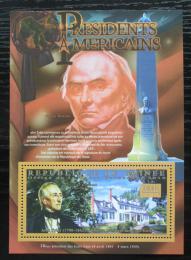 Poštovní známka Guinea 2010 John Tyler, 10. US prezident Mi# Block 1884 Kat 10€