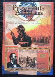 Poštovní známka Guinea 2010 James Garfield, 20. US prezident Mi# Block 1902 Kat 10€