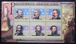 Poštovní známky Guinea 2010 Ulysses Grant, 18. US prezident Mi# 8018-23 Kat 12€