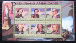 Poštovní známky Guinea 2010 Franklin Pierce, 14. US prezident Mi# 7994-99 Kat 12€