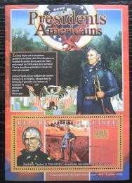 Poštovní známka Guinea 2010 Zachary Taylor, 12. US prezident Mi# Bl 1894 Kat 10€