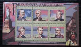 Poštovní známky Guinea 2010 Chester Arthur, 21. US prezident Mi# 8036-41 Kat 12€