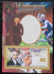 Poštovní známka Guinea 2010 James Madison, 4. US prezident Mi# Block 1878 Kat 10€