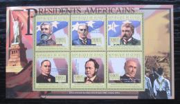 Poštovní známky Guinea 2010 B. Harrison, 23. US prezident Mi# 8048-53 Kat 12€