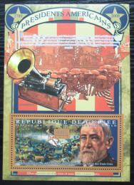 Poštovní známka Guinea 2010 B. Harrison, 23. US prezident Mi# Block 1905 Kat 10€