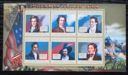 Poštovní známky Guinea 2010 Andrew Jackson, 7. US prezident Mi# 7901-06 Kat 12€